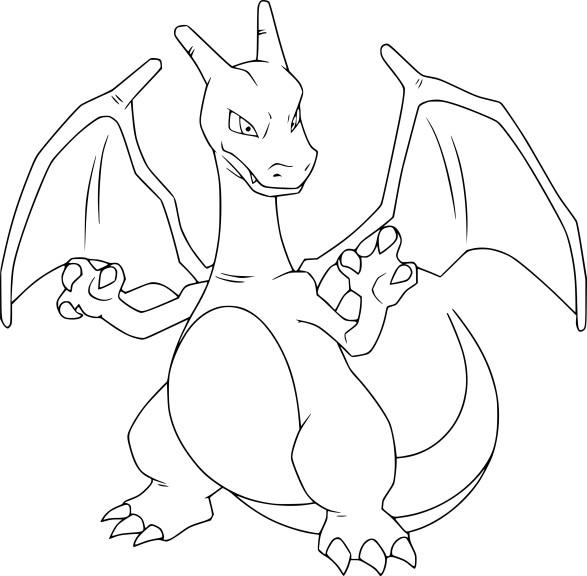 Coloriage dracaufeu imprimer - Coloriage pokemon feu ...