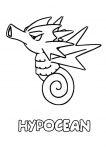 Coloriage Hypocean