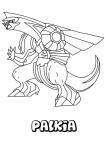 Coloriage Palkia Pokemon