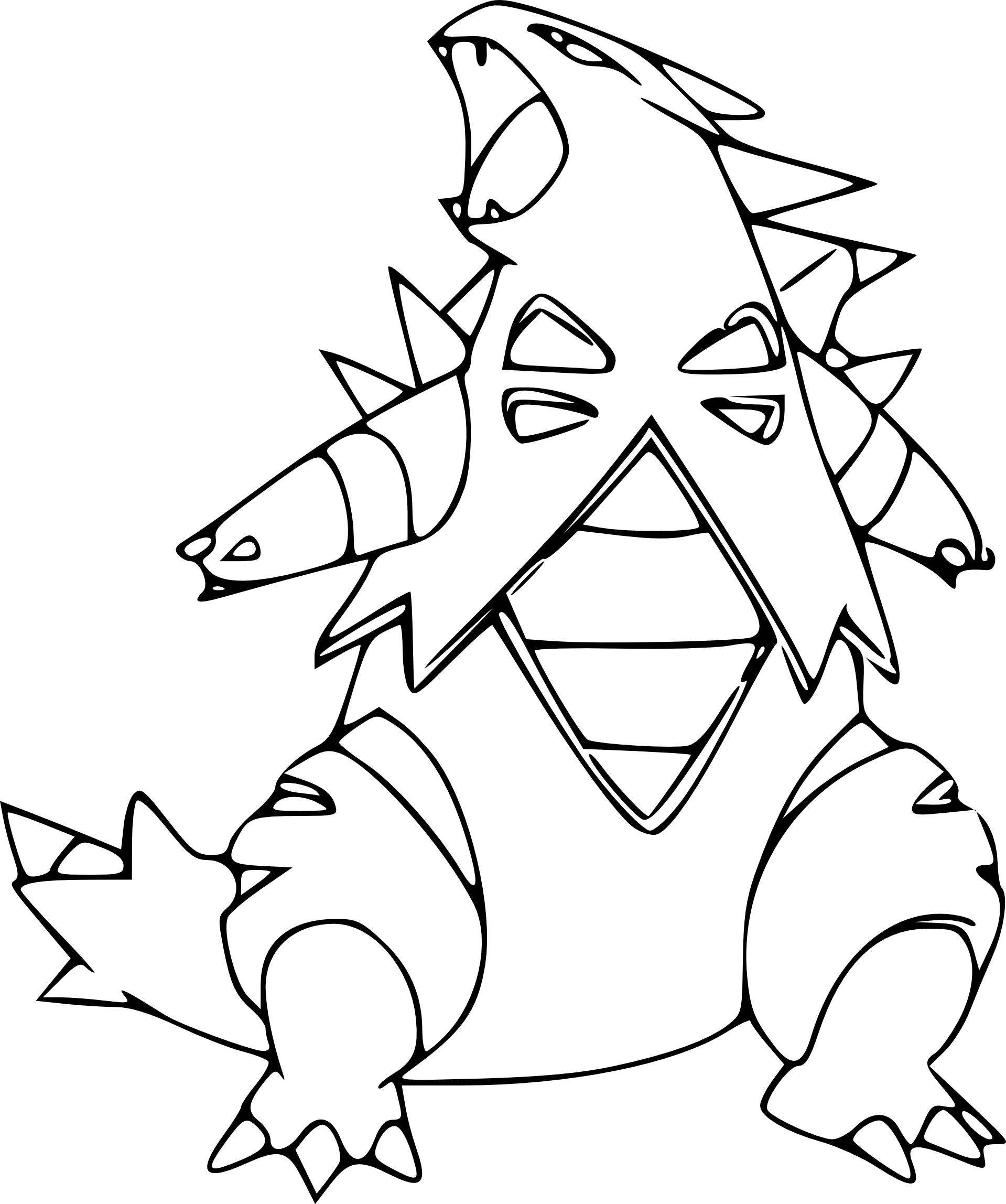 Coloriage tyranocif pokemon imprimer - Coloriage pokemon imprimer ...