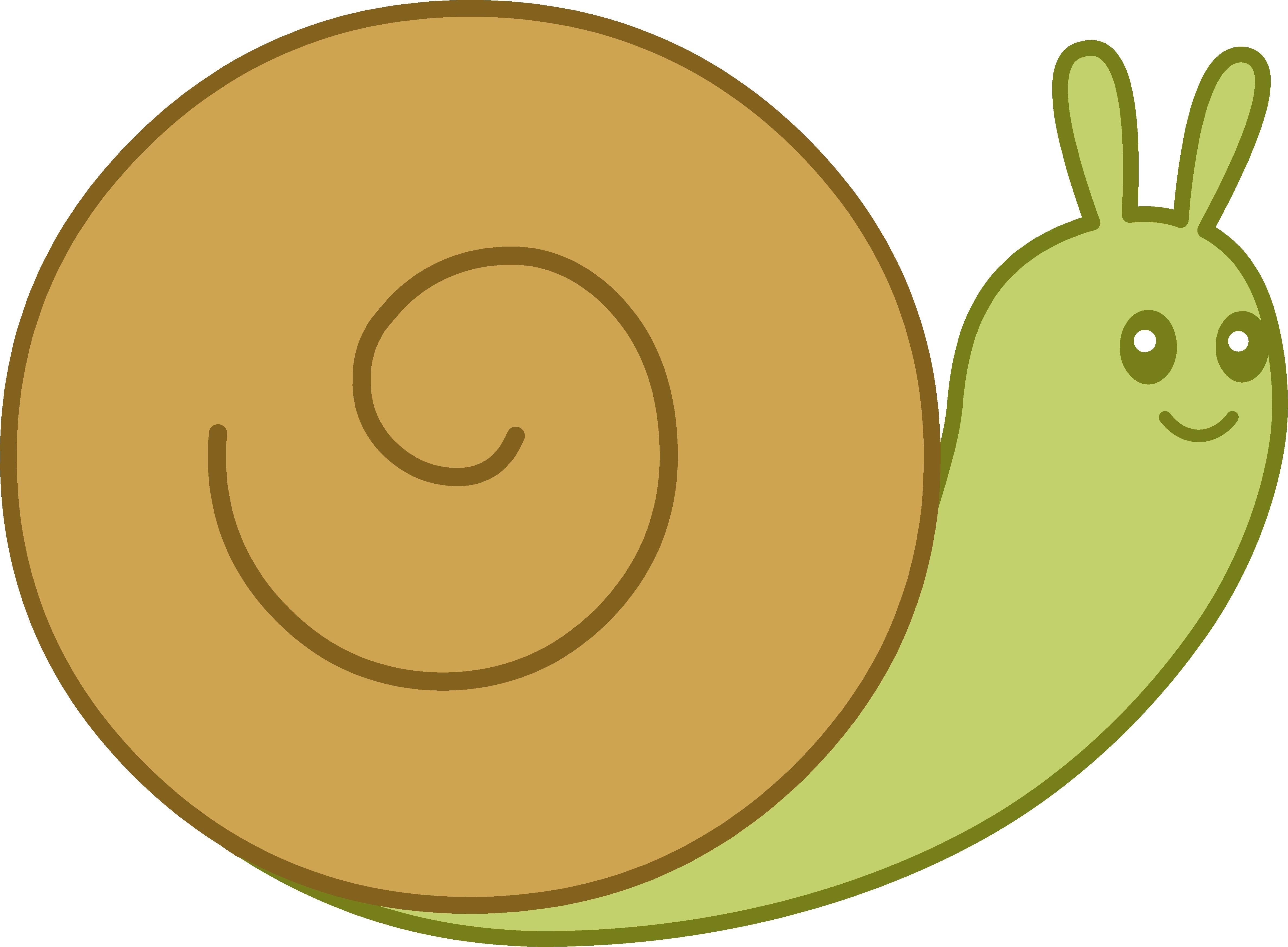 Coloriage Escargot Mignon A Imprimer