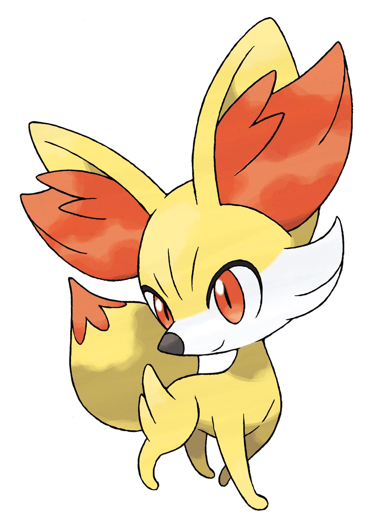 Coloriage Feunnec Pokemon X Et Y 224 Imprimer