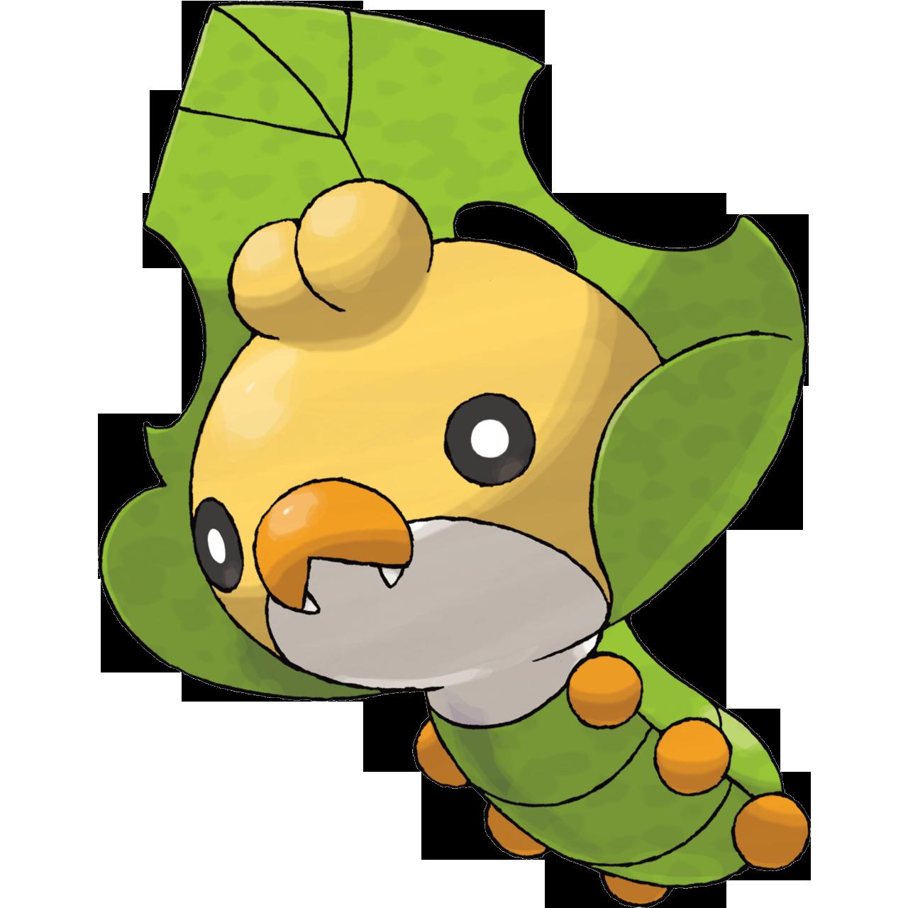 Coloriage Larveyette Pokemon 224 Imprimer
