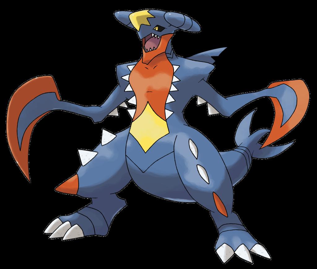 mega carchacrok - Pokemon Carchacrok