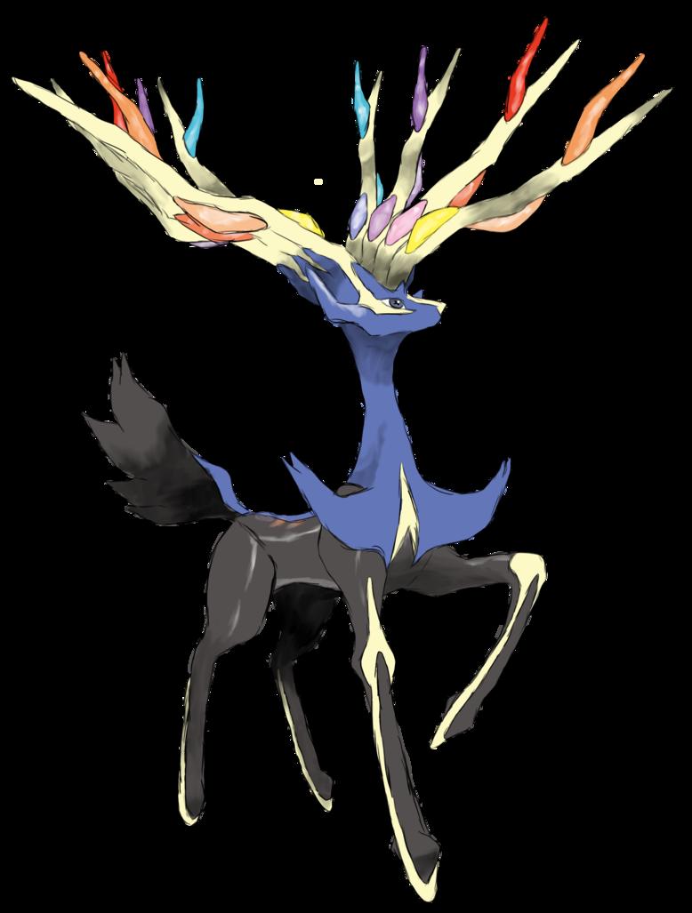 Coloriage xerneas pokemon imprimer - Image de pokemon a imprimer ...