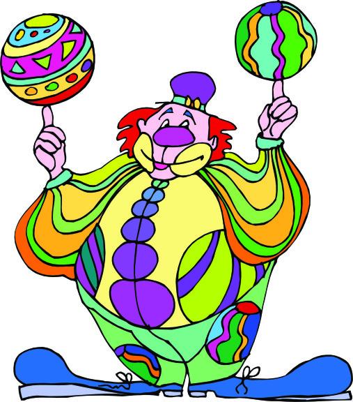 Clown ballons