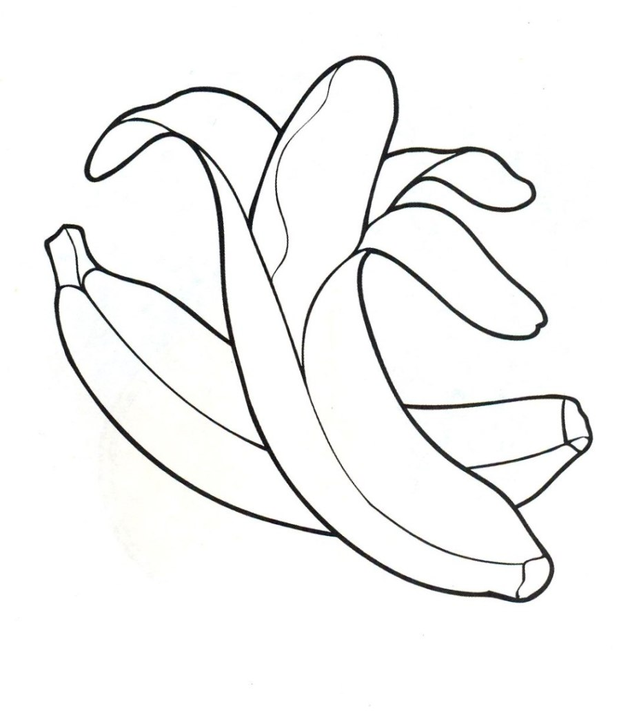 Coloriage banane