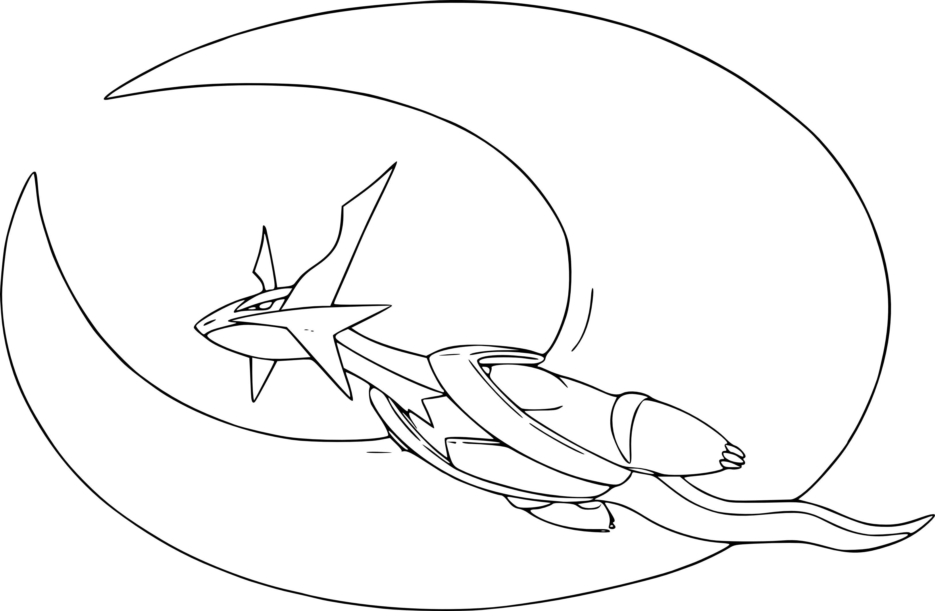 Coloriage m ga drattak pokemon imprimer - Des dessin a imprimer gratuit ...