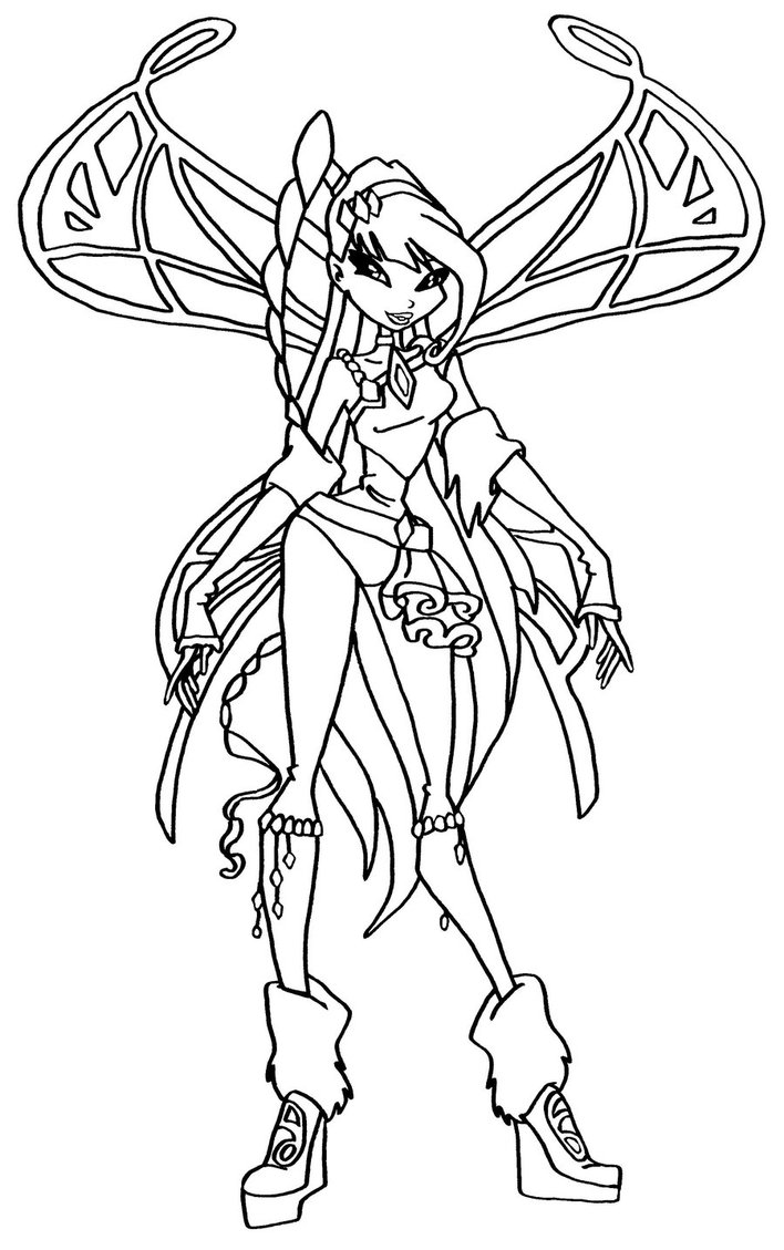 winx club coloring pages lovix - photo#12