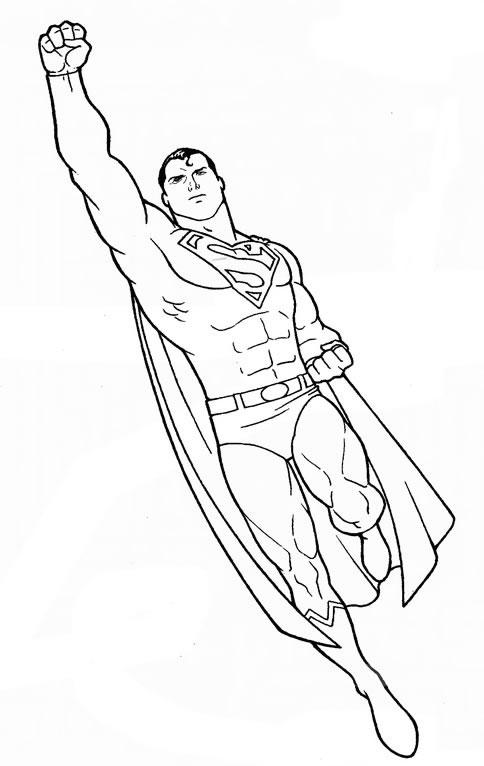 Coloriage Superman