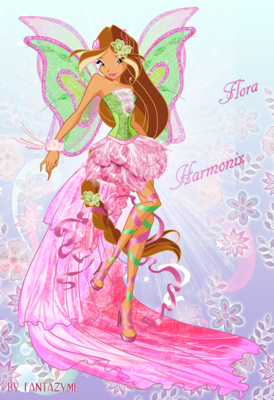 Flora princesse Harmonix