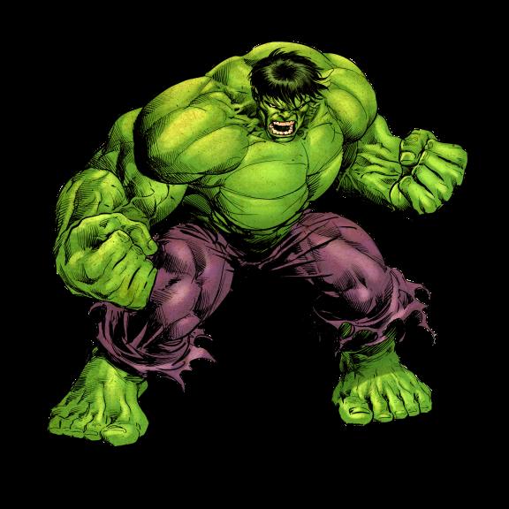 Coloriage Hulk monstre à imprimer