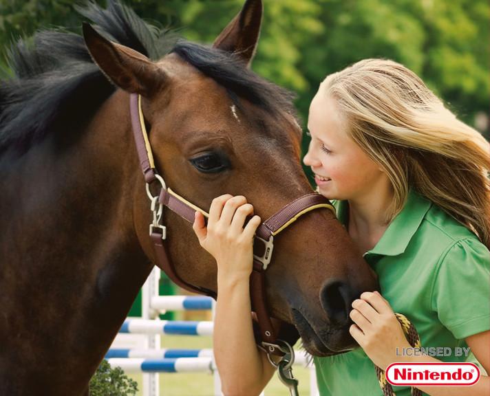 Jeune fille cheval