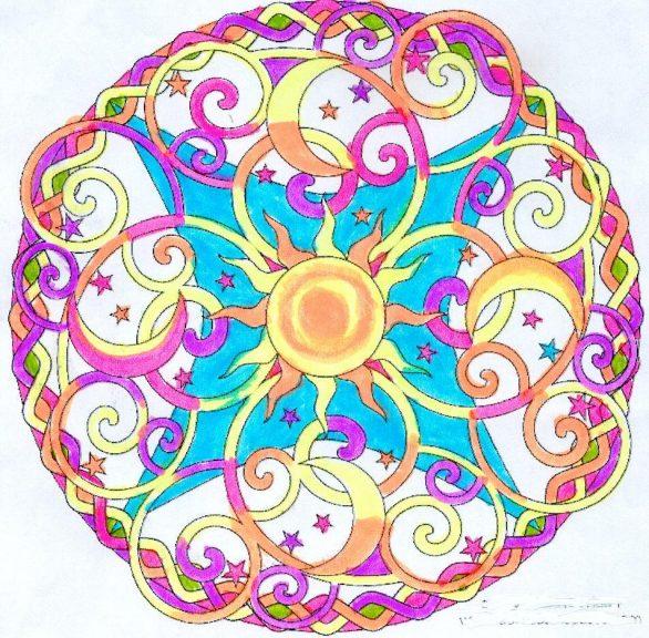 Mandala soleil