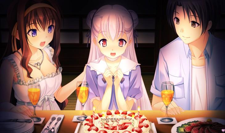 Manga fille anniversaire