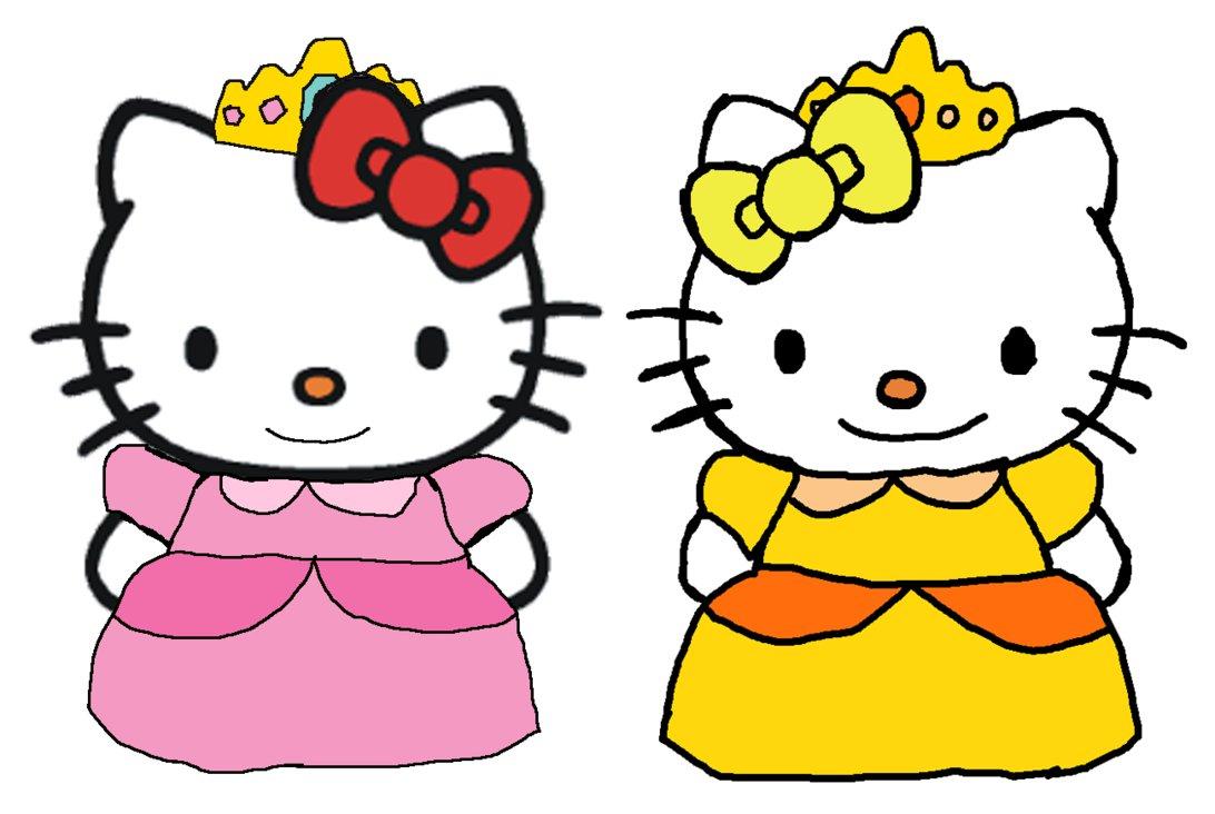 Coloriage hello kitty princesse imprimer - Coloriage hello kitty princesse ...