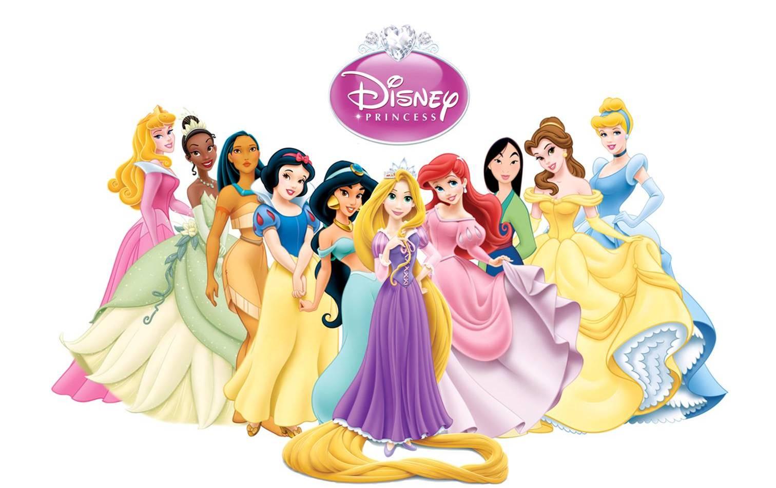 Coloriage Princesses Disney A Imprimer