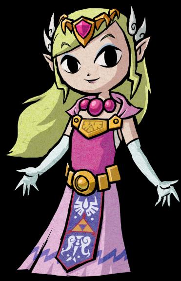 Coloriage princesse zelda imprimer - La princesse zelda ...