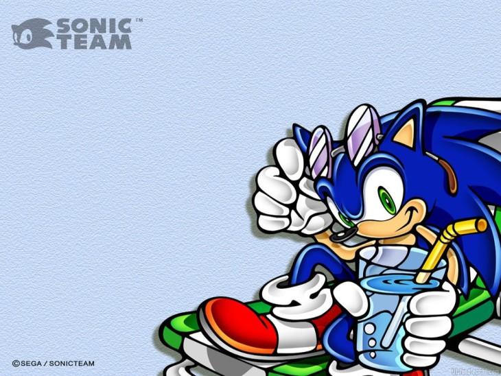 Sonic en vacances