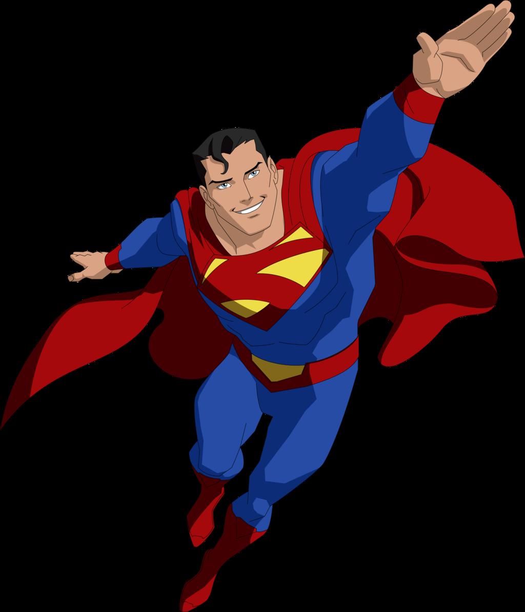 Coloriage Superman super-héro à imprimer