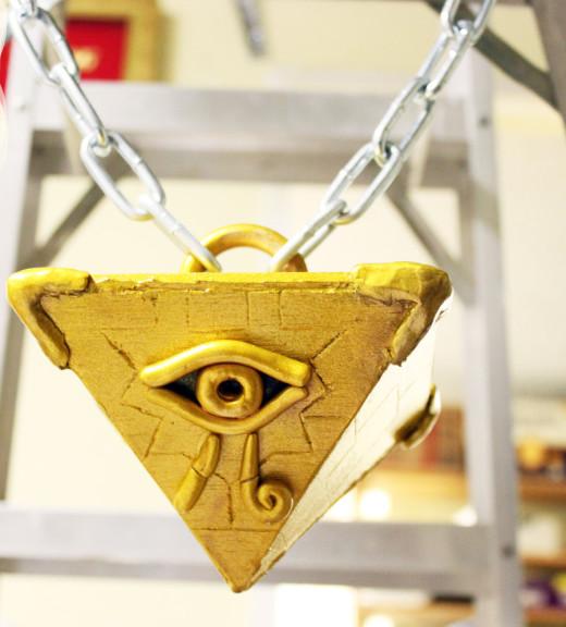 Yu-Gi-Oh pyramide