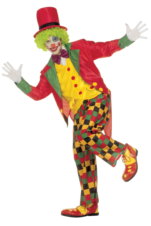 Coloriage clown cirque à imprimer