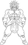 Coloriage Broly