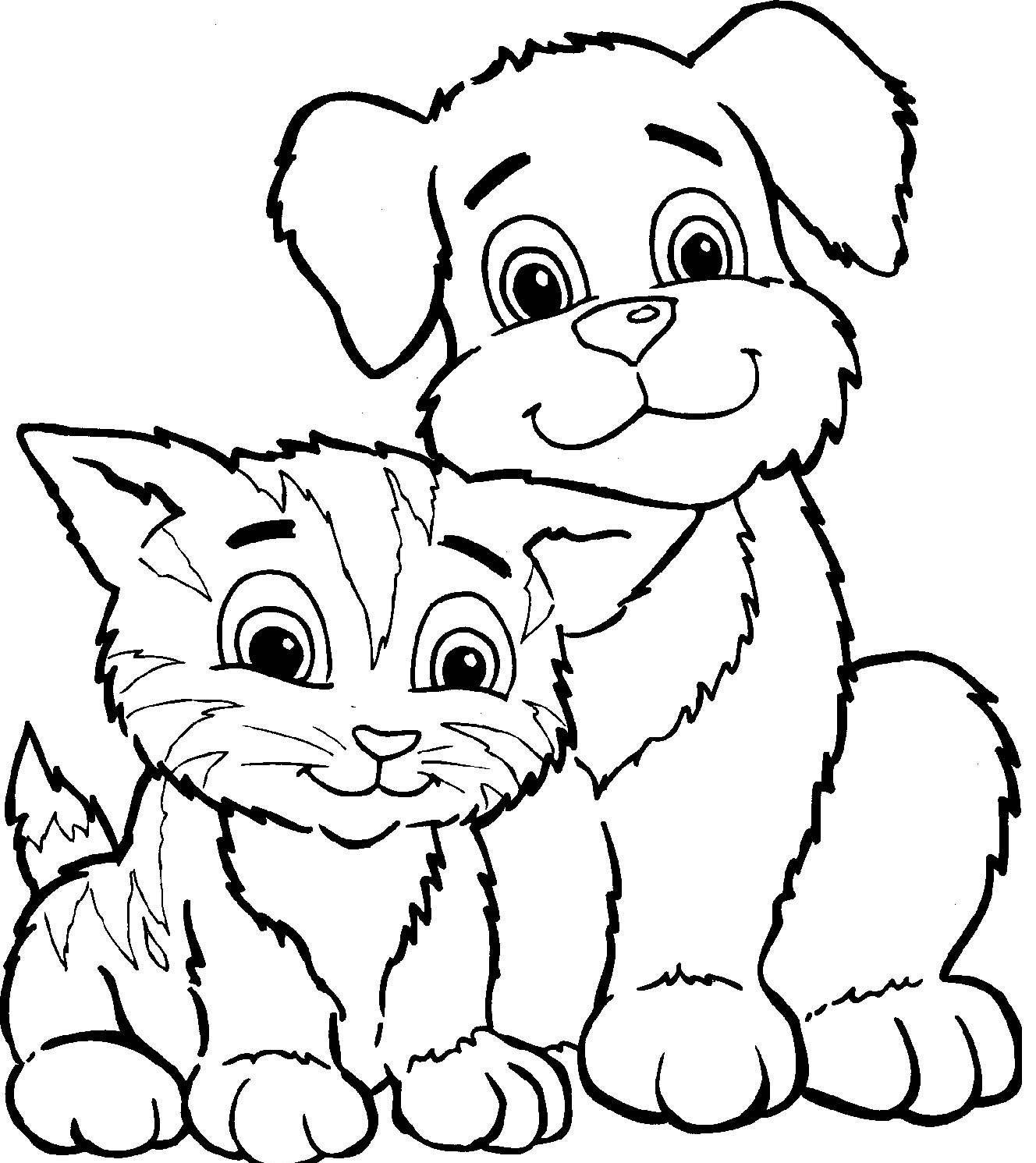 coloriagechienetchat