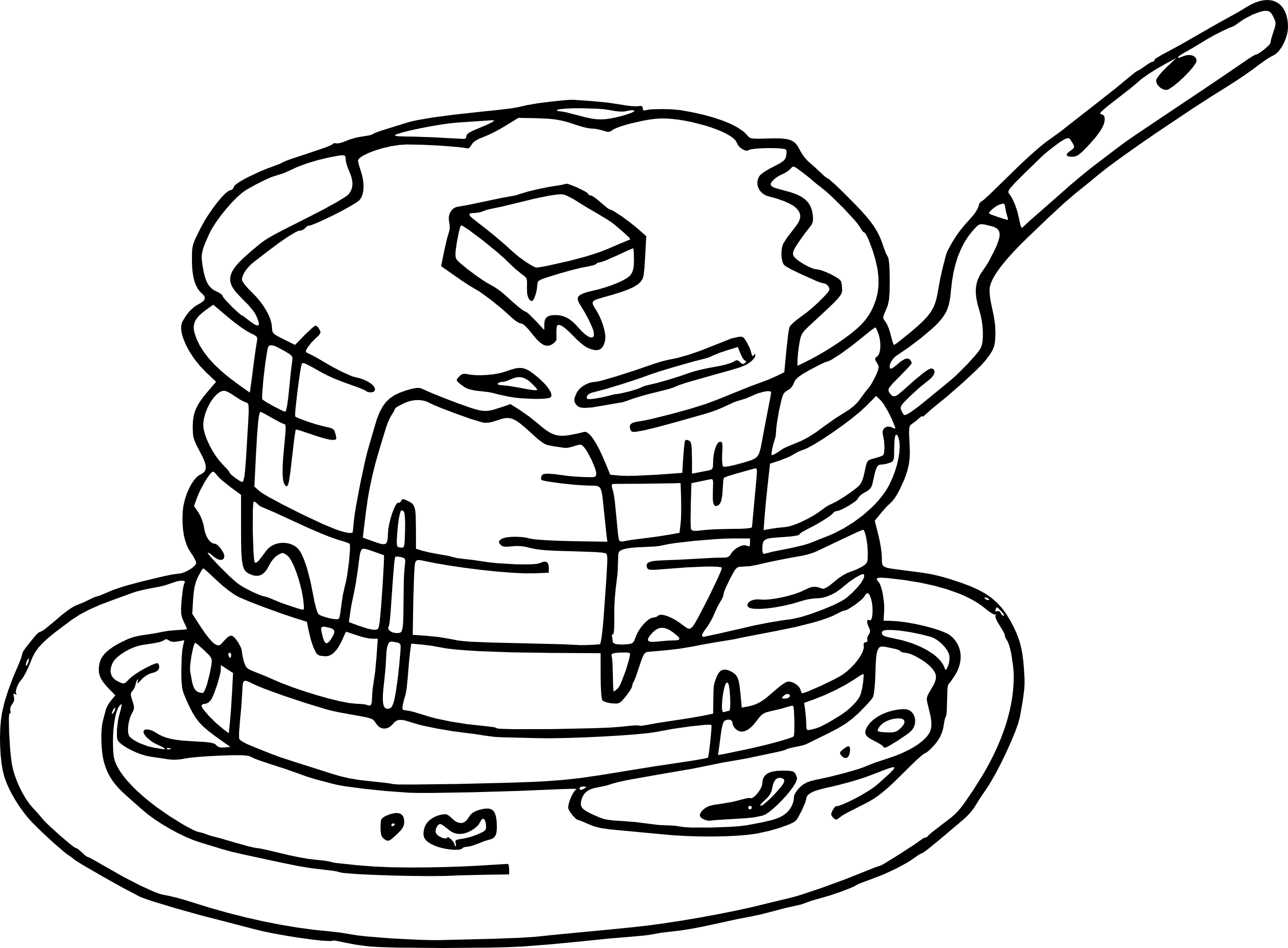 Coloriage crepes