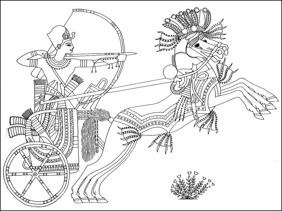 Coloriage A Imprimer Egypte Antique.Coloriage Egypte Antique A Imprimer