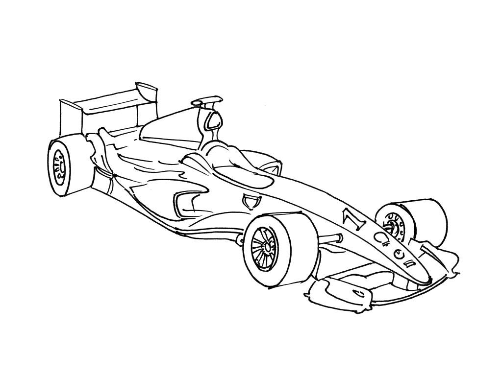 Coloriage formula 1 imprimer - Cars a colorier et a imprimer ...