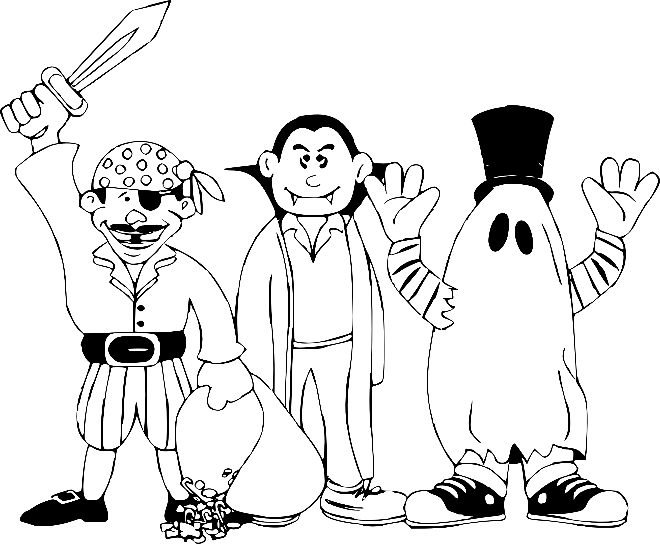 Coloriage halloween 2016