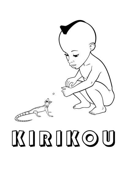 Coloriage Kirikou