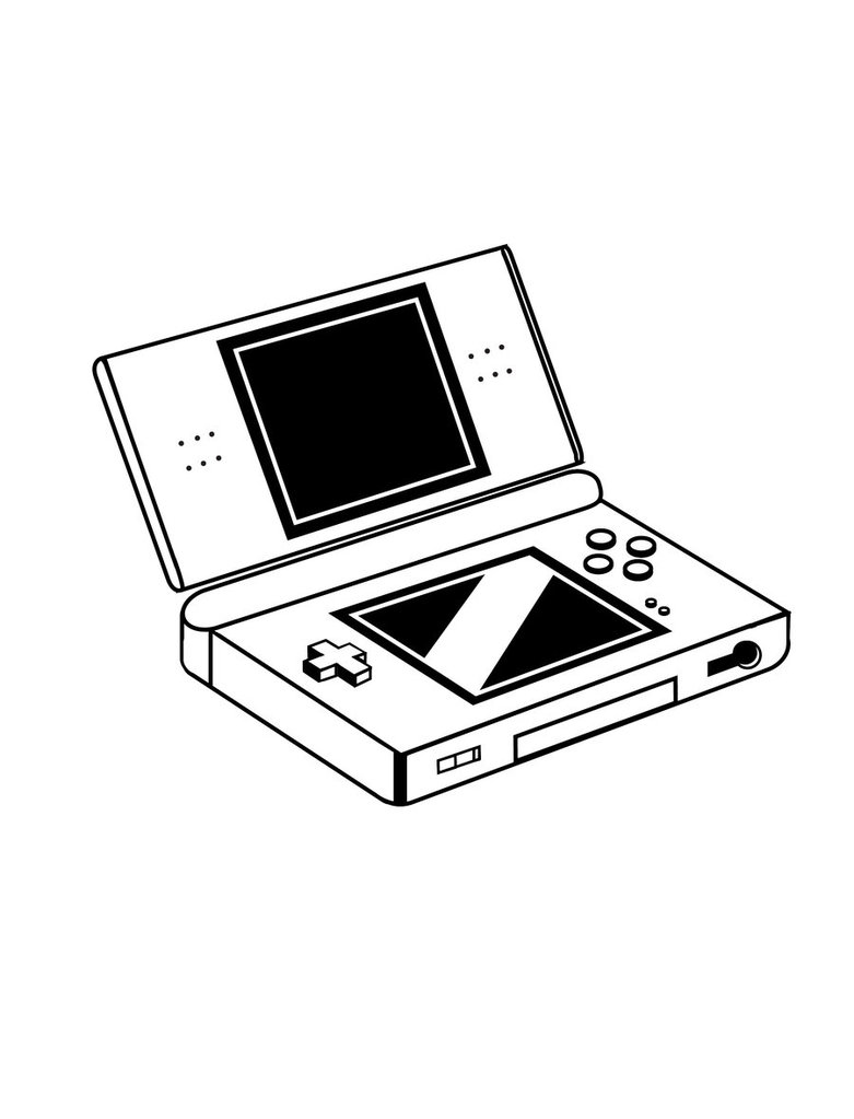 Coloriage Nintendo DS