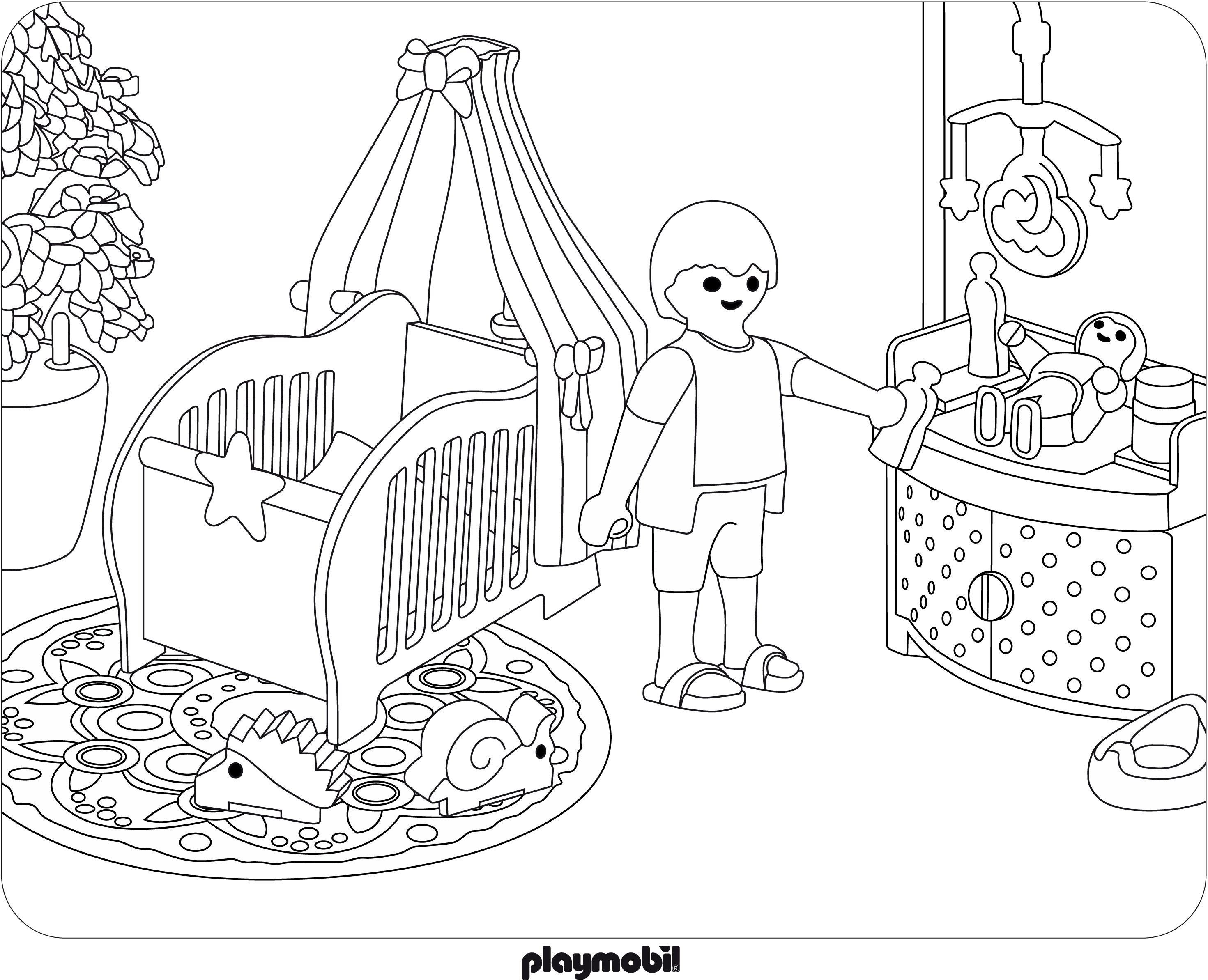 Coloriage playmobil jouet imprimer - Coloriage minnie jouet ...