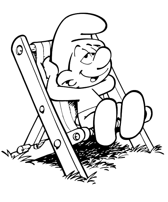resting coloring pages - photo#28