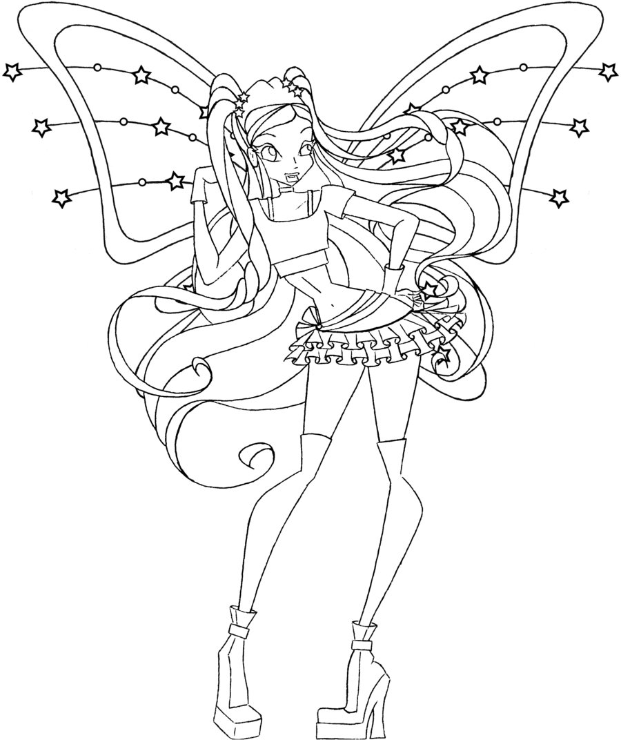 Coloriage Stella Believix