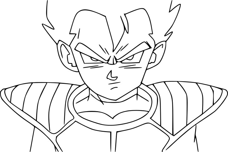 Coloriage tarble dbz imprimer - Dessin dragon ball z facile ...