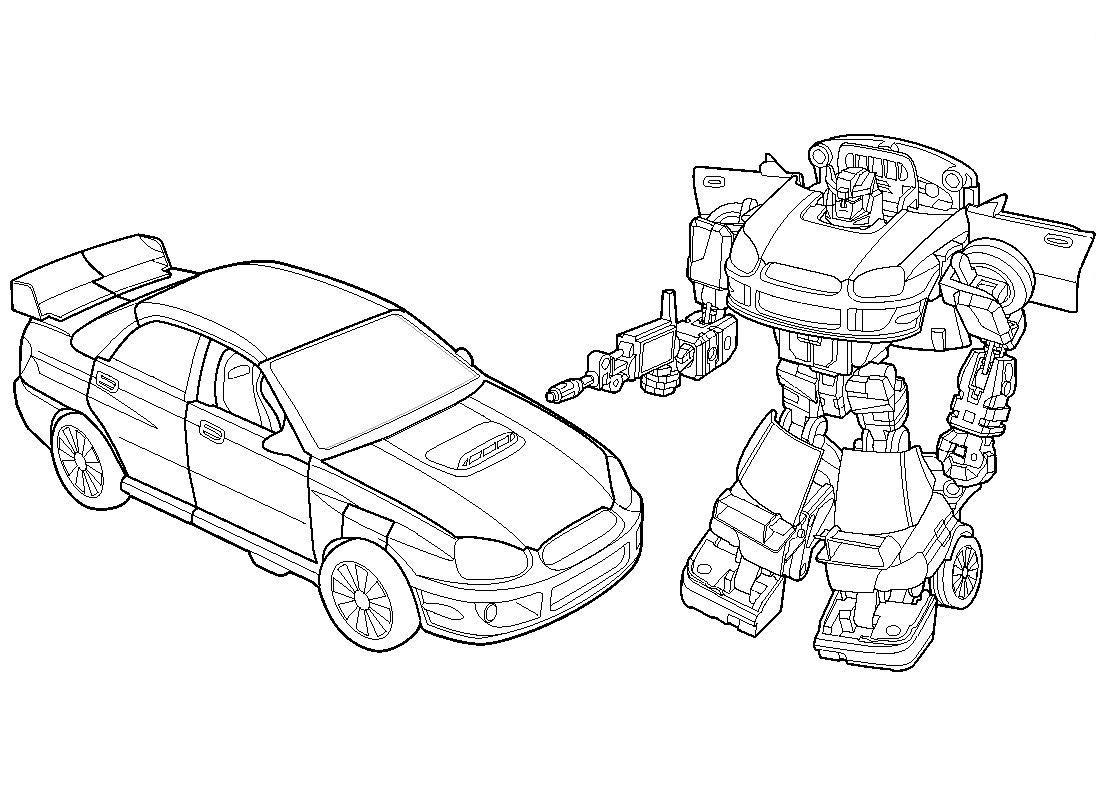 Coloriage En Ligne Transformers.Coloriage Transformers Voiture A Imprimer