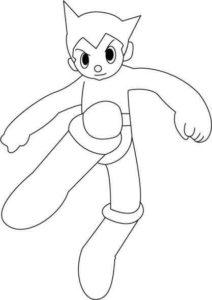 Dessin Astroboy