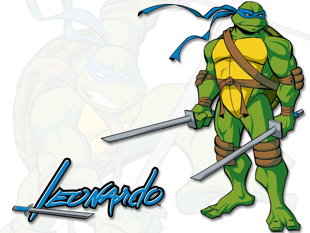 Coloriage Leonardo Tortue Ninja A Imprimer