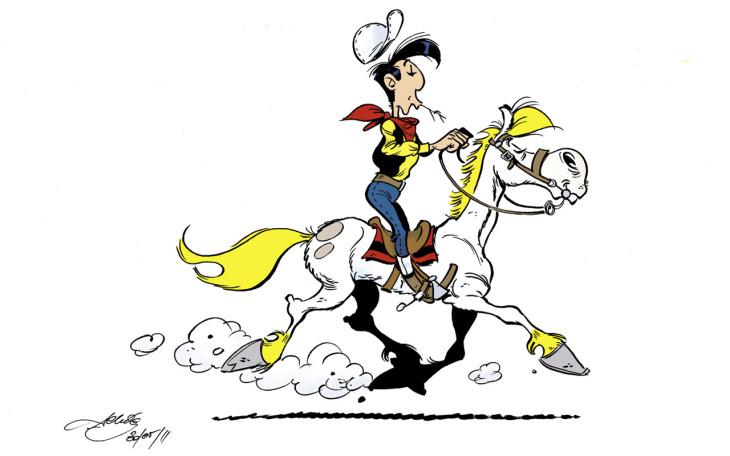 Lucky Luke Jolly Jumper