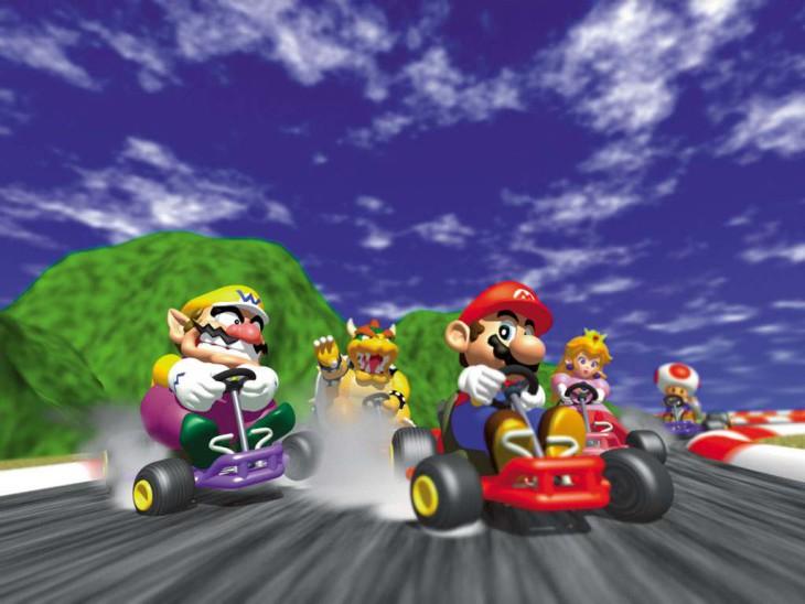 Mario Kart course
