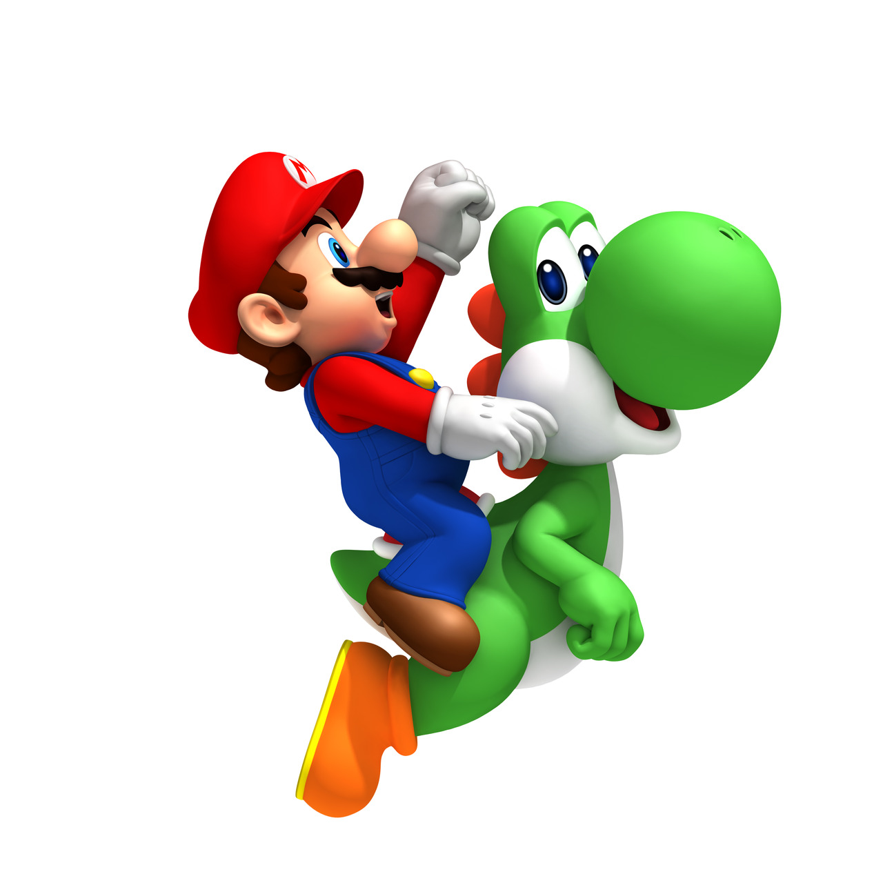 Coloriage Gratuit A Imprimer Mario Yoshi.Coloriage Mario Yoshi A Imprimer
