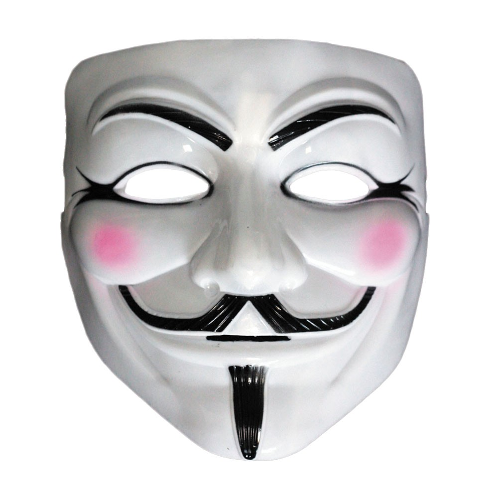 Coloriage masque anonymous imprimer - Jeux de clown tueur gratuit ...