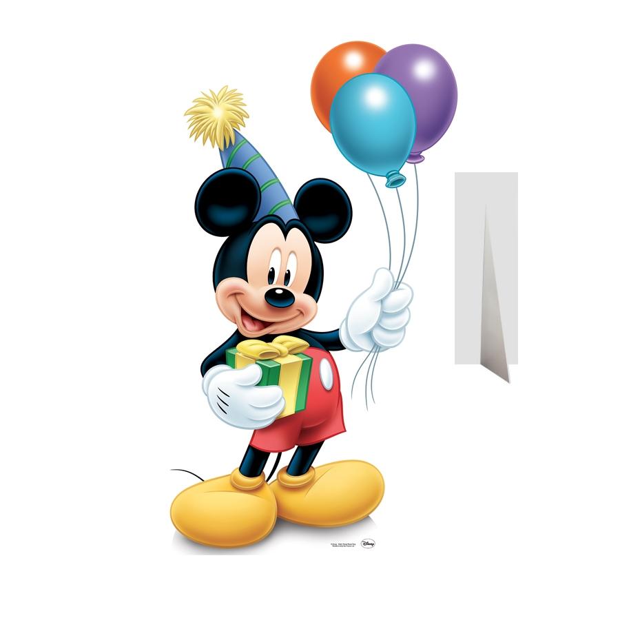 Coloriage Anniversaire Mickey.Coloriage Mickey Anniversaire A Imprimer