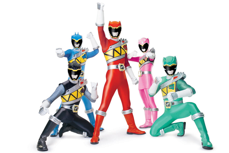Coloriage Power Rangers à imprimer