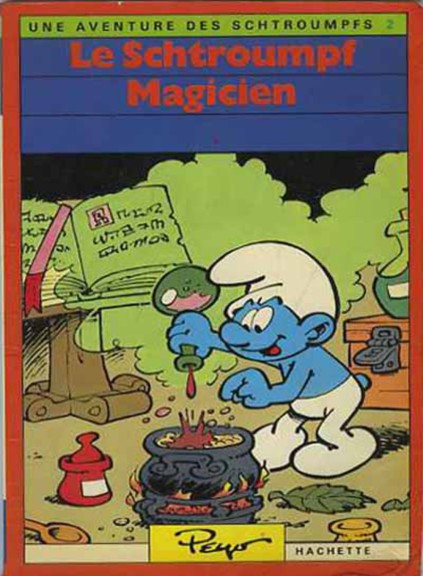 Schtroumpf magicien