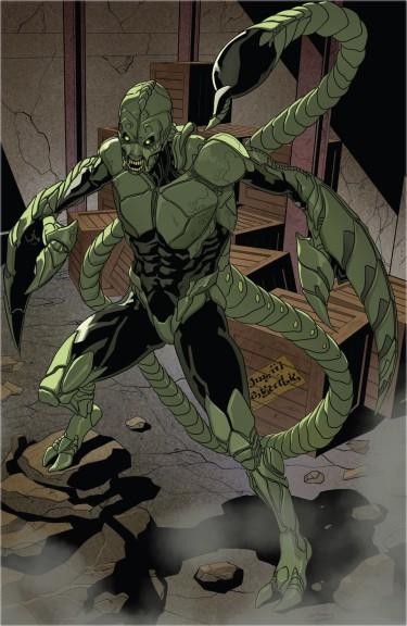 Scorpion Spider Man