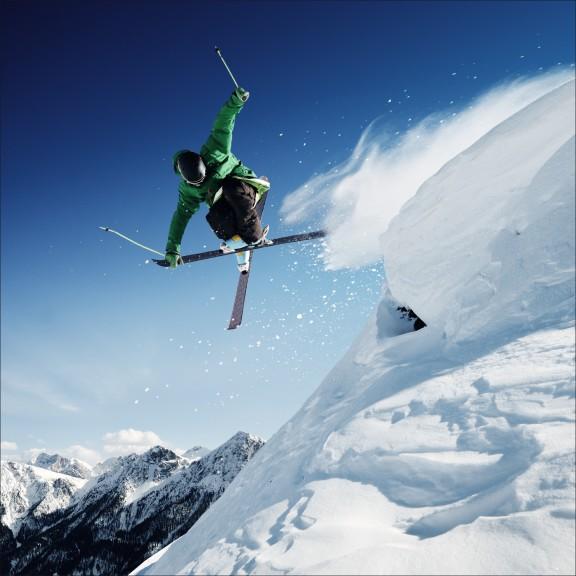 Skieur dessin